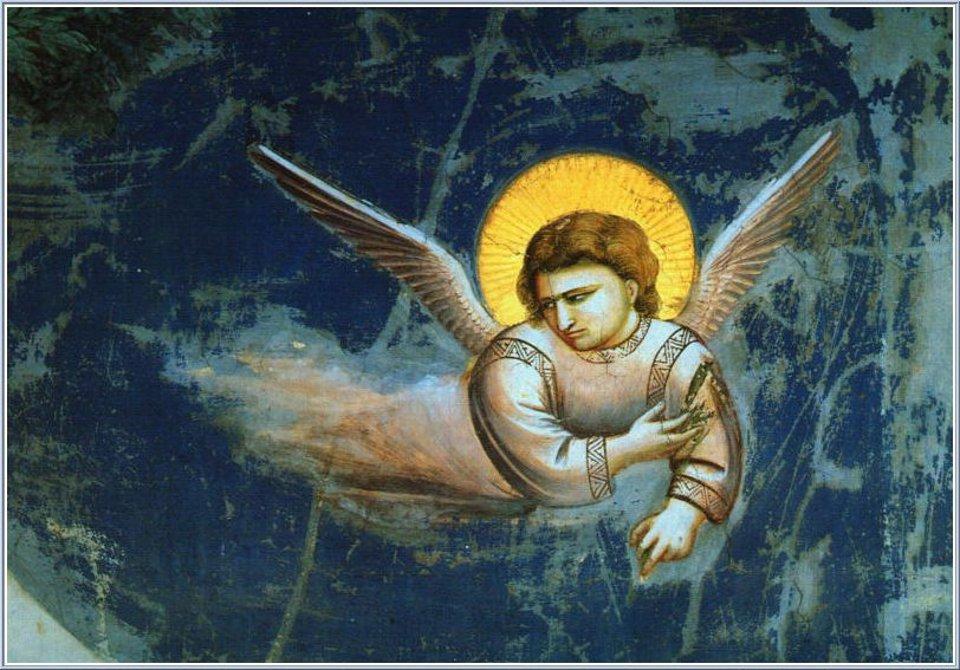 Engelen in de kersttijd