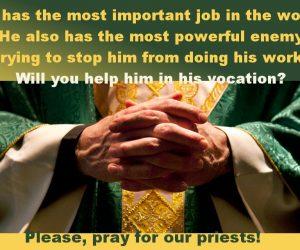 Gebed voor priesters