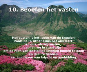 10. Vasten