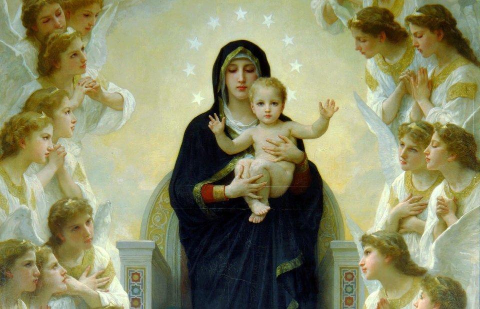 Engelen in de school van Maria