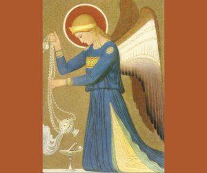 Engelen verrichten liturgische diensten