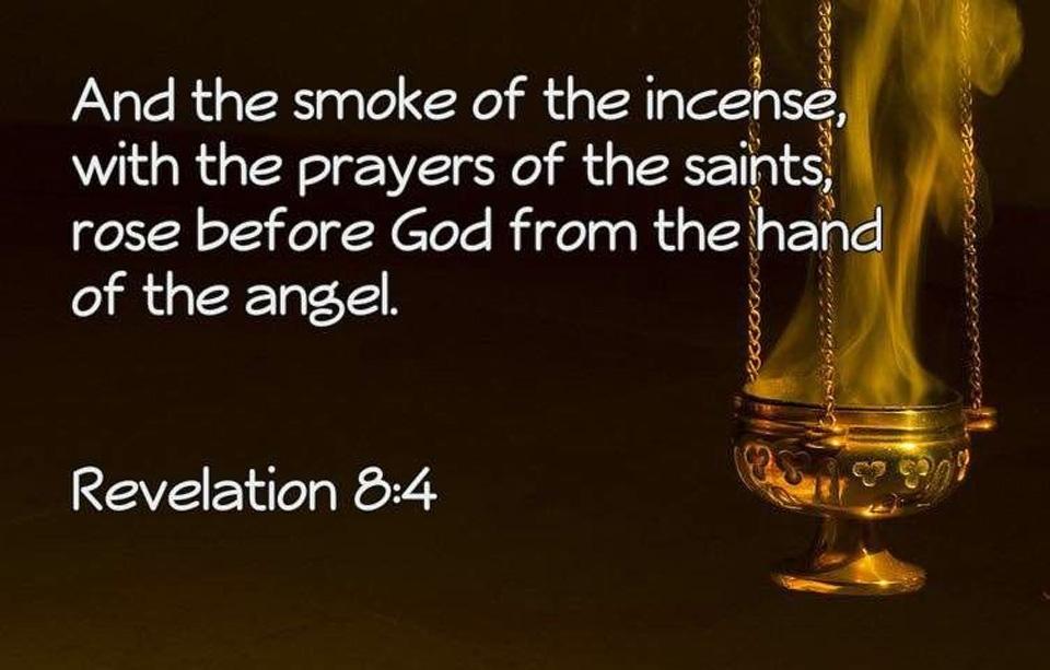 De Heilige Engelen en ons gebed