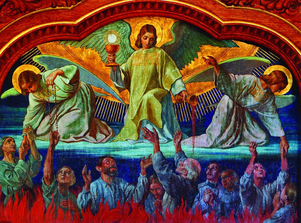 Gebed voor de zielen in het vagevuur