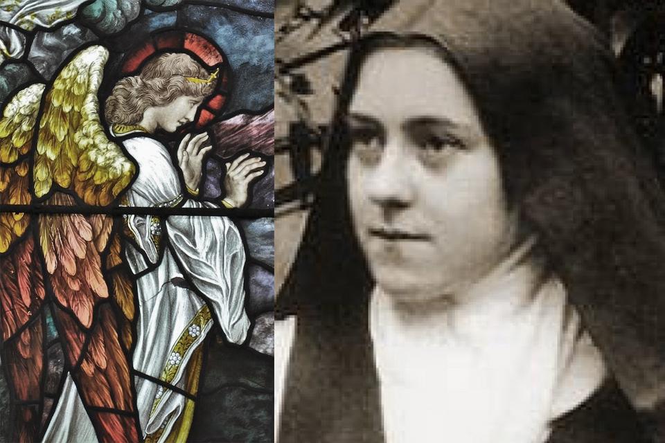 De kleine H. Theresia en de Engelen