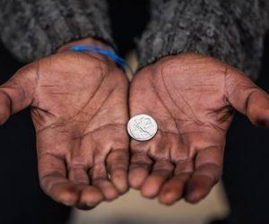 Het laatste geld…