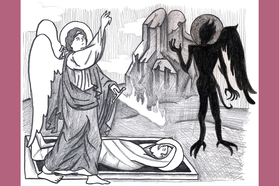 Hoe strijden de Engelen tegen de demonen?
