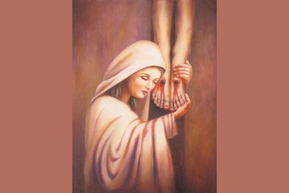 Maria, geducht als een leger in slagorde (5)