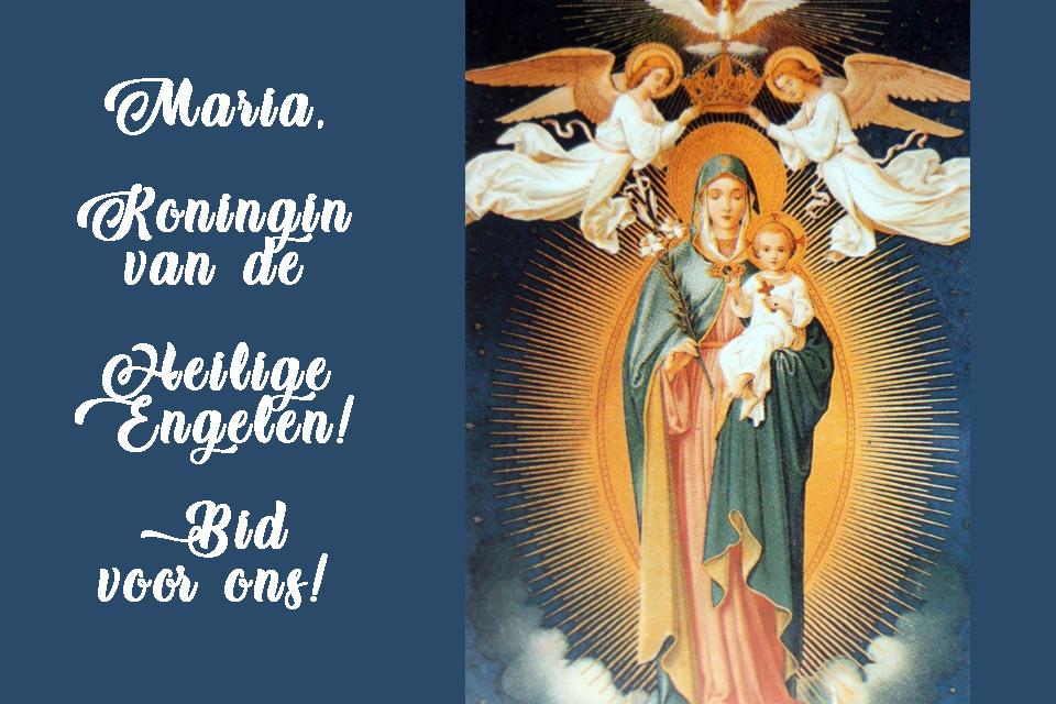Maria, geducht als een leger in slagorde(2)
