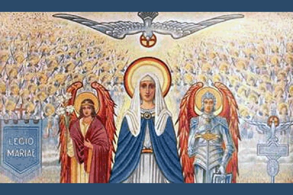 Maria, geducht als een leger in slagorde (3)