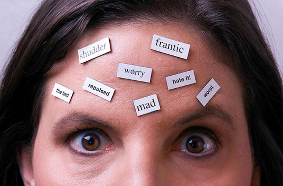 1. Negatieve gedachten