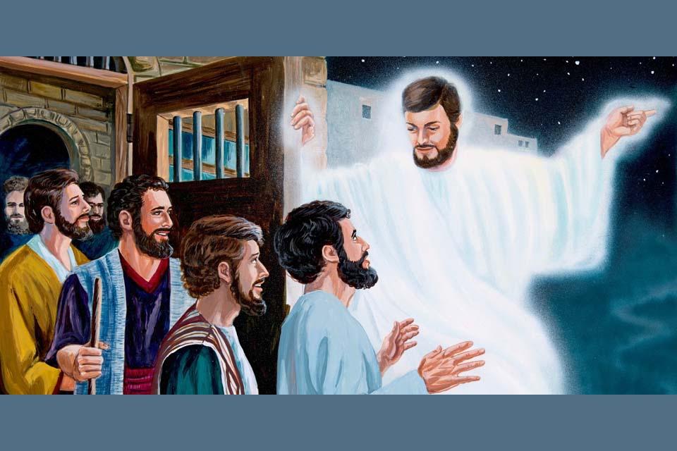 Gebed tot de Engel van de gevangenen