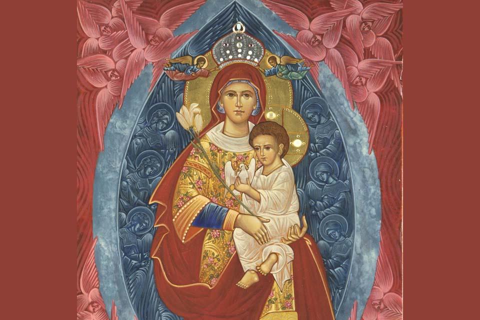 Gebed tot Maria, Koningin van de Heilige Engelen