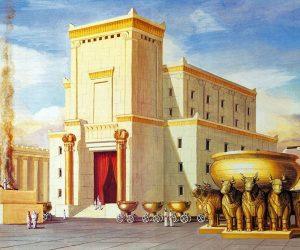 Tempel en paleis